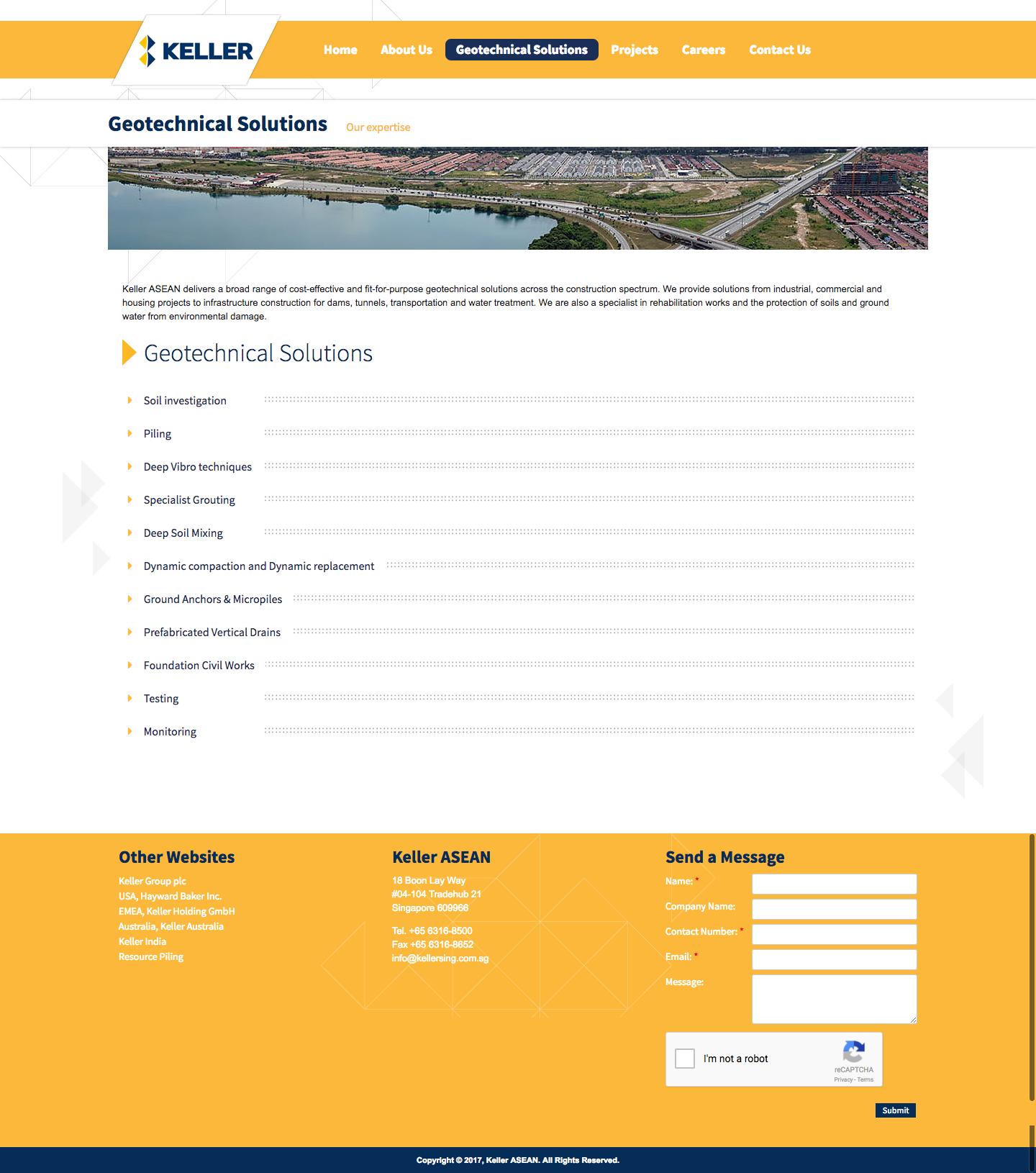 Geotechnical Solutions – Keller ASEAN