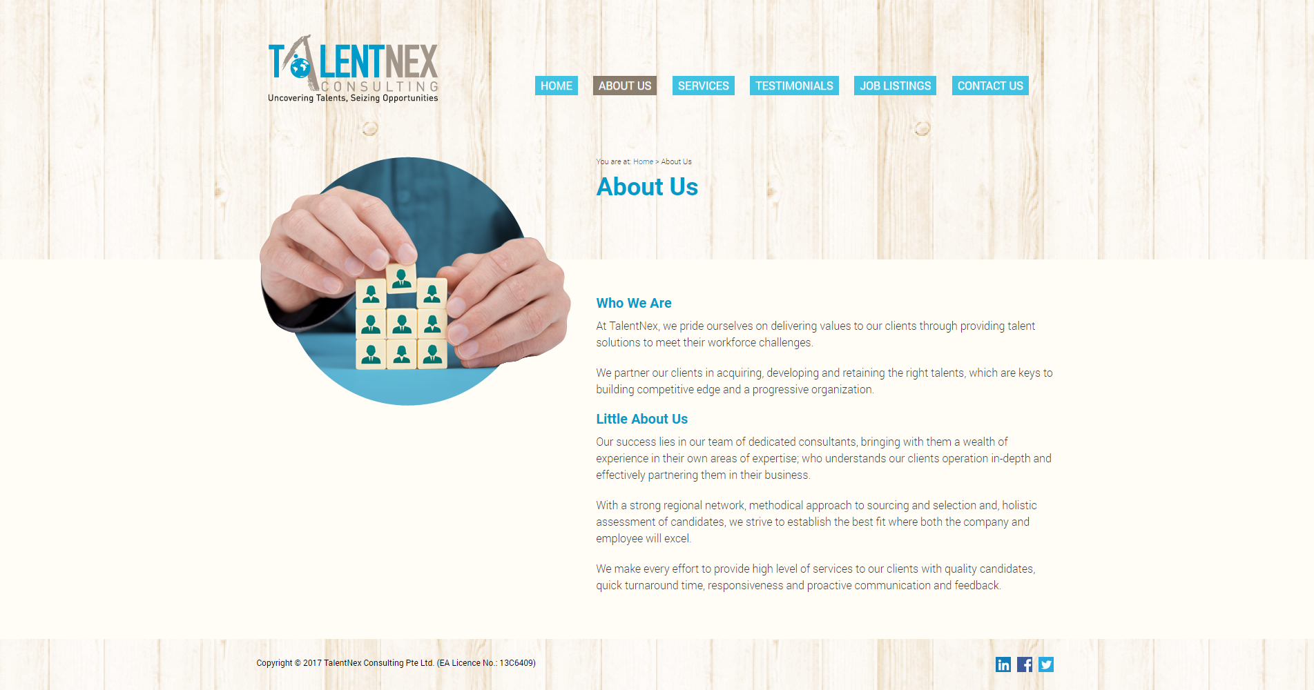 About Us Talentnex