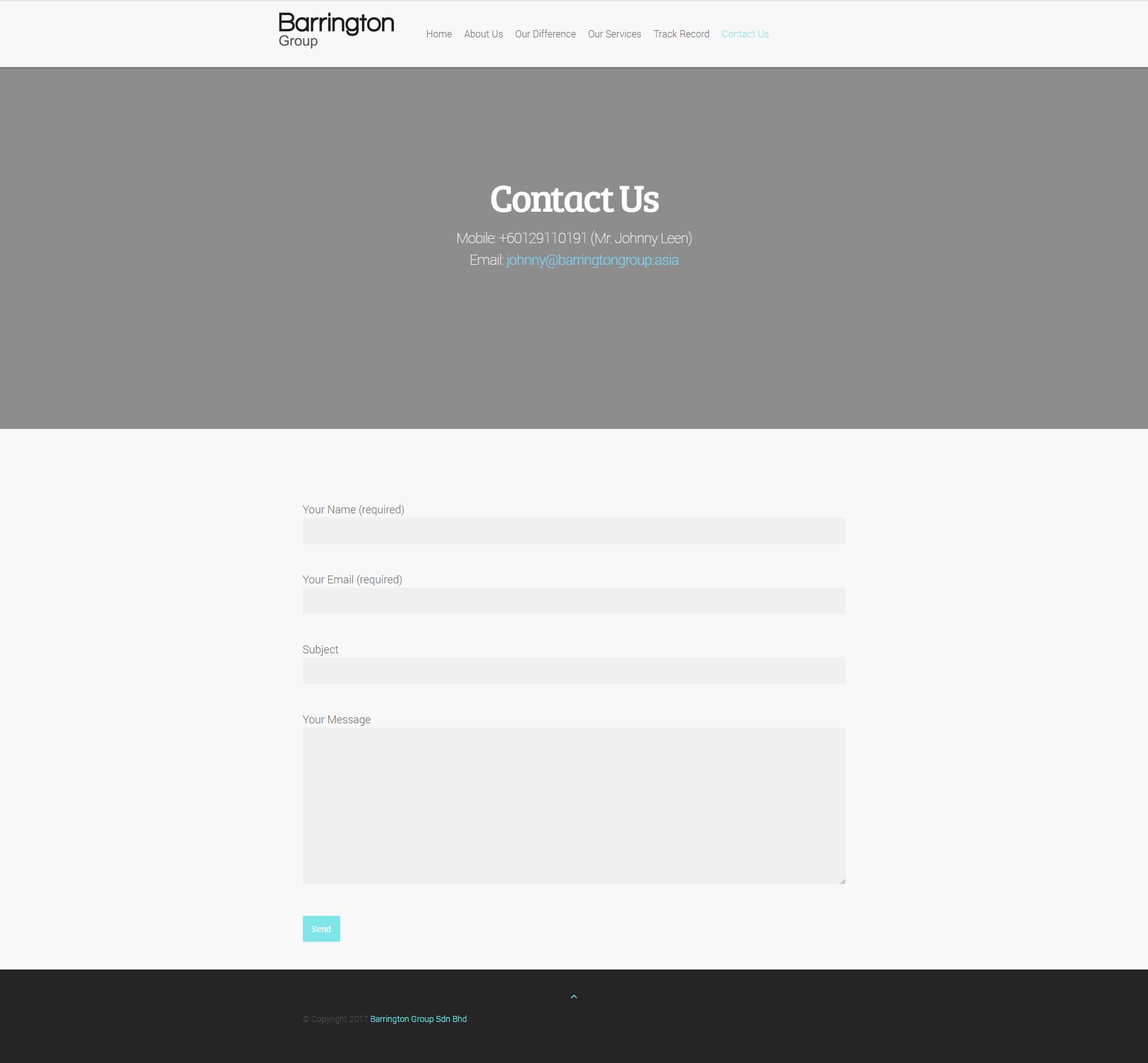 Barrington » Contact Us