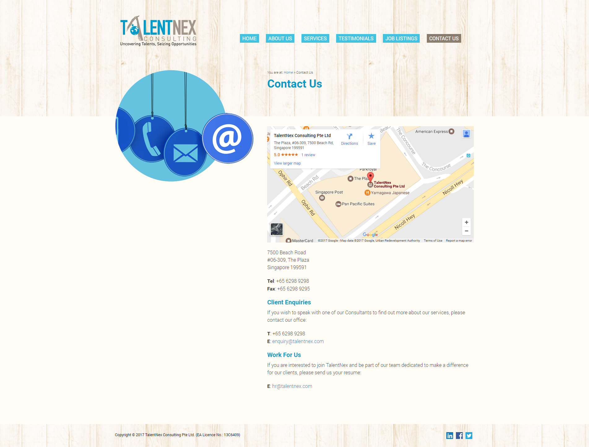 Contact Us Talentnex - Contact Us