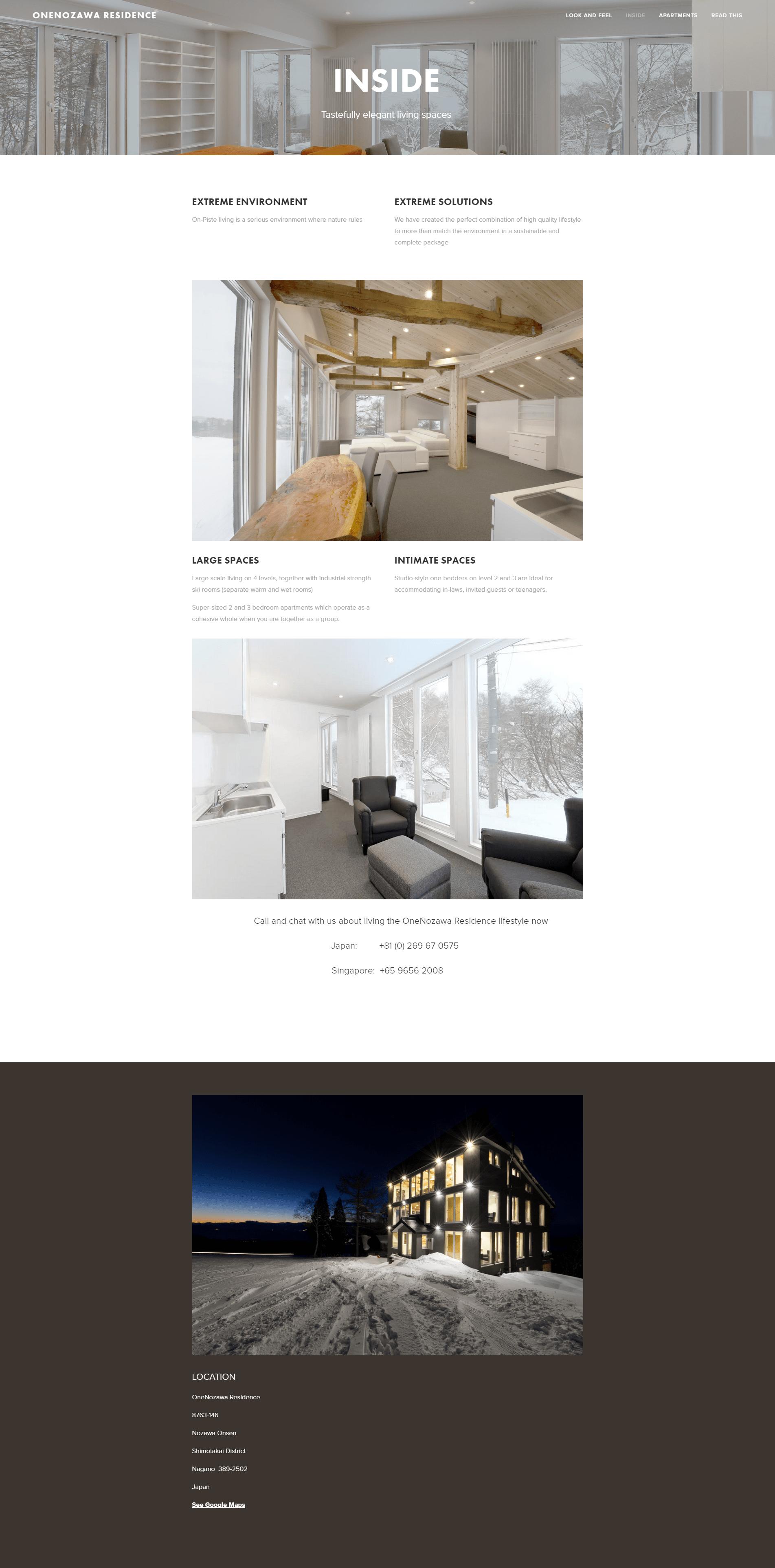 Inside — OneNozawa Residence-min