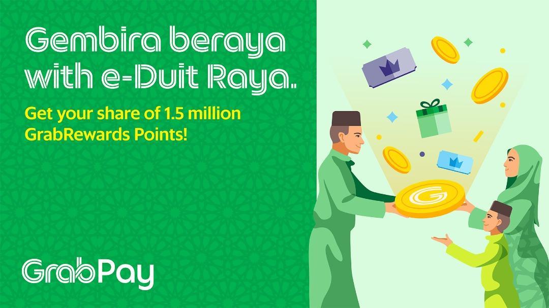 Grab Malaysia e-Duit Raya